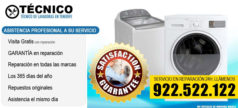 Municipios de asistencia t cnica 922 522 122 for Tecnico de lavadoras tenerife